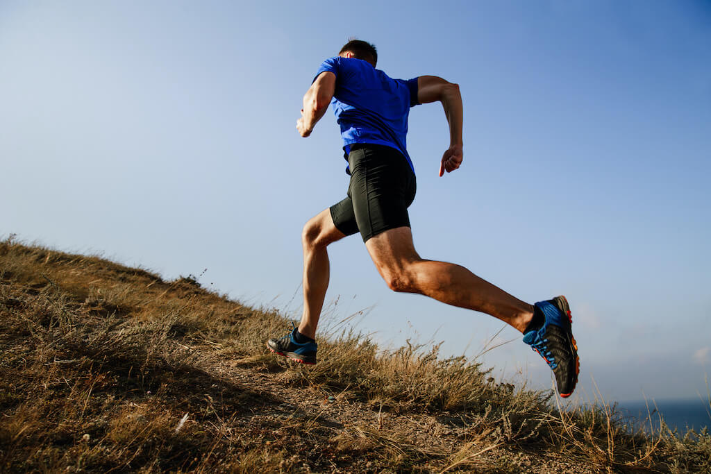 dynamic running uphill